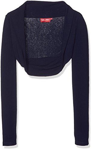 G.O.L. Mädchen Heavy-Jersey-Bolero Jacke, Blau (Midnight-Blue 1), (Herstellergröße:164)
